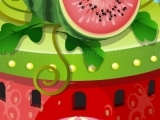 Game Fruity House Decoration