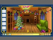 Game Knf Winter Wooden House Escape
